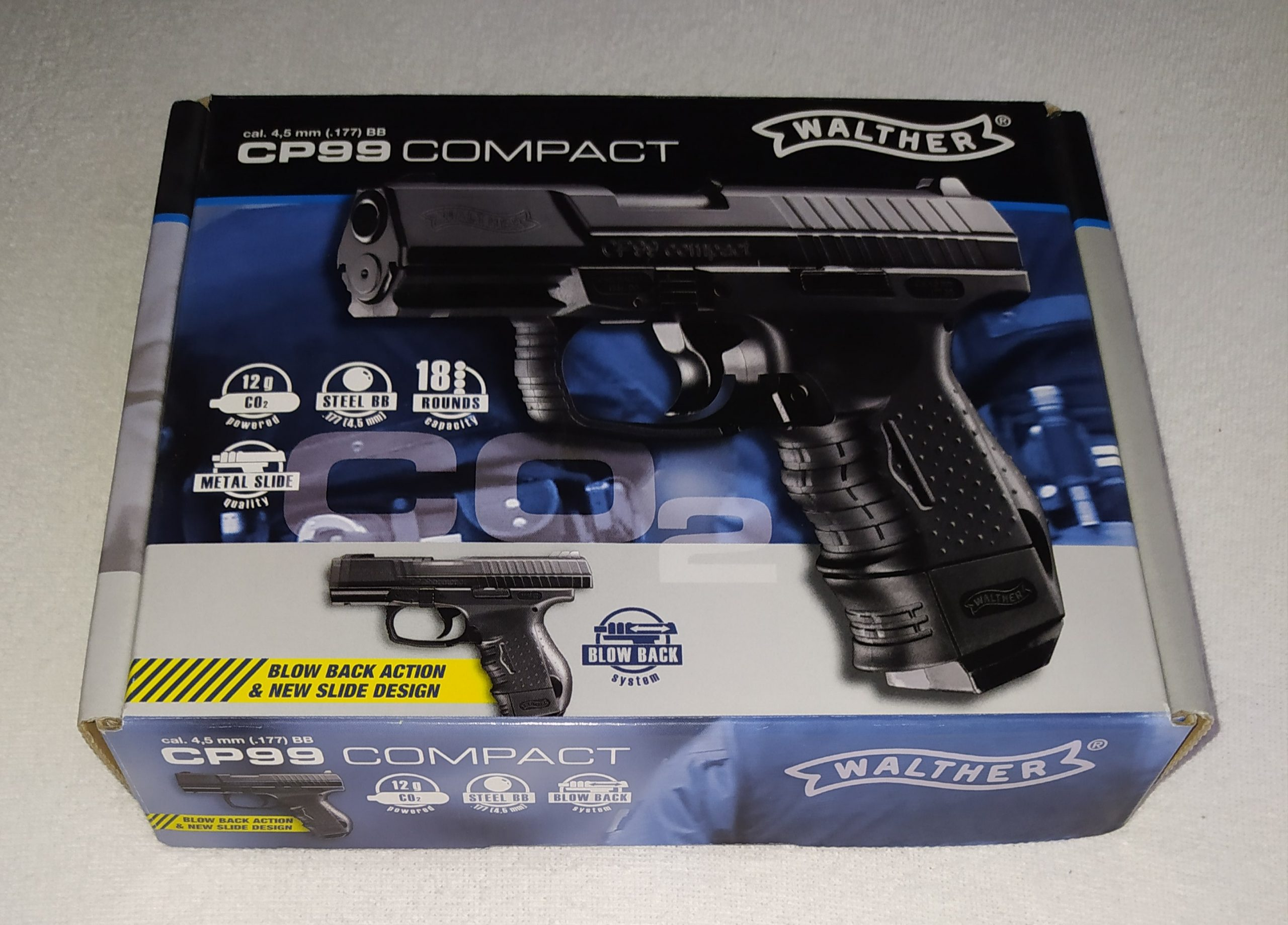 UMAREX WALTHER CP99 CO2 PISTOLE 4,5MM in OVP